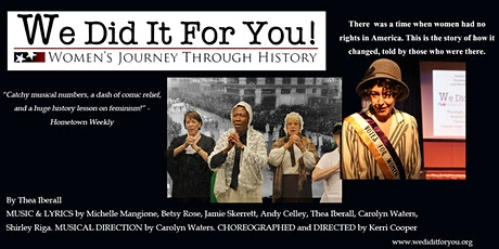 We Did It For You! - the film tickets