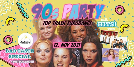 90s Party • Eurodance Bad Taste  • Passau Tickets