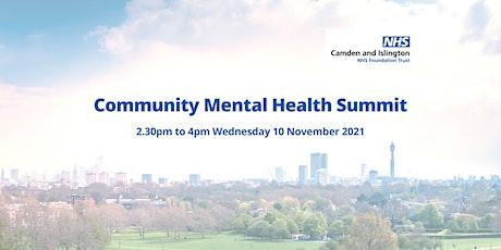 Community Mental Health Summit tickets