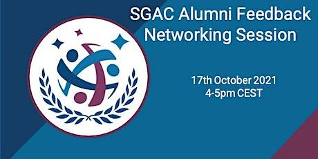 SGAC Alumni Feedback/Networking Session tickets