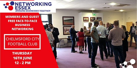 (FREE) Networking Essex Chelmsford Thursday 16th June 12pm-2pm tickets