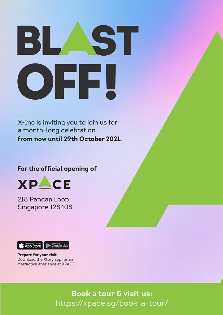 Visit to XPACE - hosted by Nichol Ng image