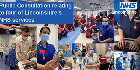 Public consultation relating to four of Lincolnshire's NHS Services *Online ingressos