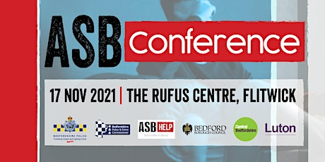 BEDFORDSHIRE ASB CONFERENCE 2021 (online) tickets