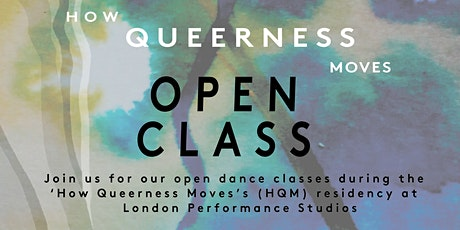 How Queerness Moves Open Class tickets