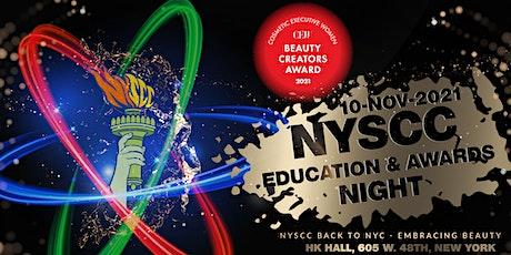 NYSCC Awards Night Ceremony 2021 tickets