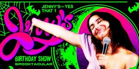 Jenny's Birthday Variety Show SPOOKTACULAR tickets