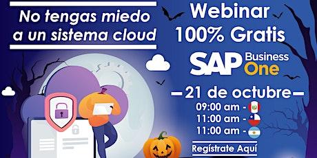 Webinar: No tengas miedo a un Sistema Cloud entradas