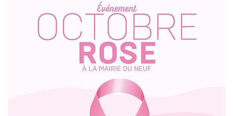 Événement OCTOBRE ROSE à la Mairie du 9e billets