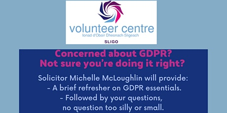 Refresher on GDPR essentials/Q&A session(for non-profits) tickets
