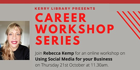 Social Media for Business with Rebecca Kemp tickets