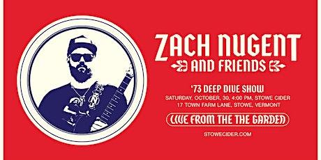 Zach & Friends - '73 Deep Dive tickets