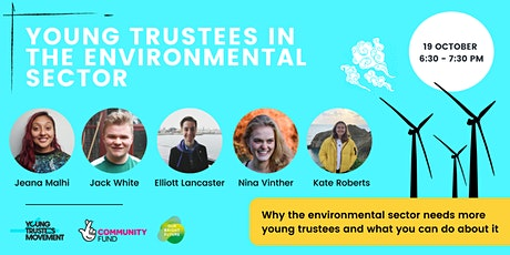 Young  Trustees in the Environmental Sector tickets