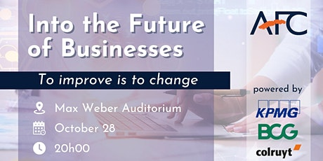 Into the Future of Businesses tickets