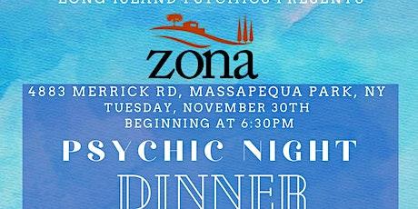 Brenda Lee and her team of Long Island Psychics at Zonas Massapequa tickets
