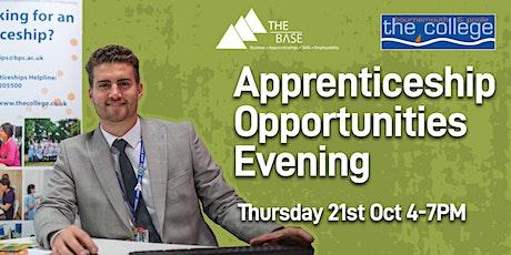 Apprenticeship Opportunities Evening tickets