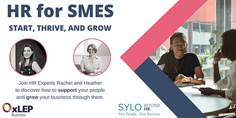 SYLO | Beyond HR and OxLEP present HR for SMES - START, THRIVE AND GROW tickets