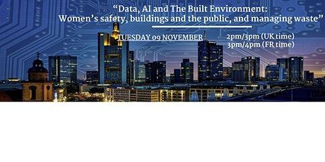 Data, AI and The Built Environment tickets