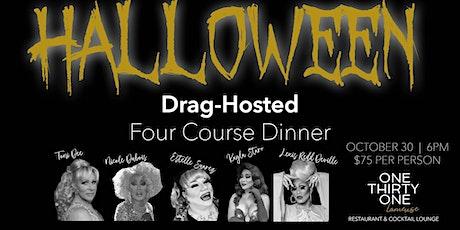 Halloween Drag Dinner tickets