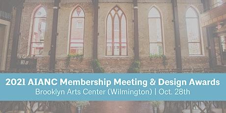2021 AIA North Carolina Membership Meeting and Chapter & Design Awards tickets