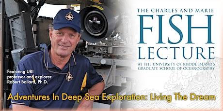 Adventures In Deep Sea Exploration with Robert Ballard (Virtual) tickets