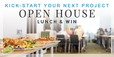 OPEN HOUSE  - LUNCH & WIN tickets