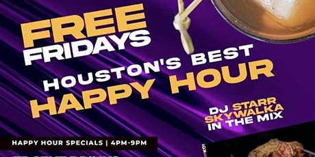 11.5| Happy Hour at Grooves Free Fridays tickets
