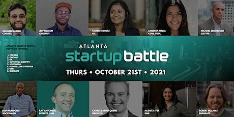 Atlanta Startup Battle 9.0 (In-Person Tickets) tickets