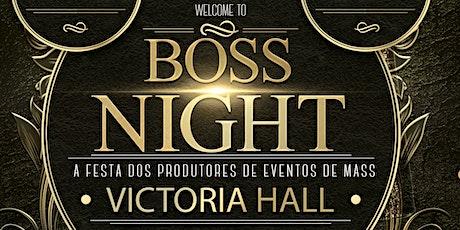 Boss Night Victoria Hall tickets