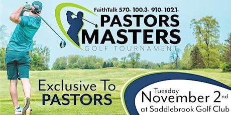2021 FaithTalk Pastors Masters Golf Tournament tickets