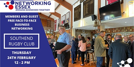 (FREE) Networking Essex Southend Thursday 24th February 12pm-2pm tickets