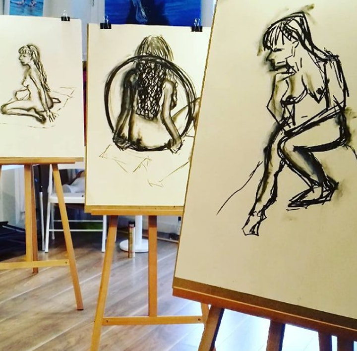 Life Drawing - Wednesday Evenings  6 Week Course - 2 hrs image