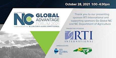 NC Global Advantage Forum 2021 tickets