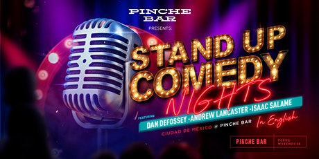 Pinche Bar Presents Stand Up Comedy Nights entradas