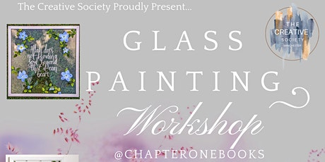 Flowers & Frames: Glass Frame Painting workshop @Chapteronebooks! tickets