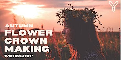 Autumnal Floral Crown Workshop tickets
