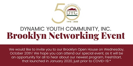 Dynamic Youth Community Brooklyn Networking Event tickets
