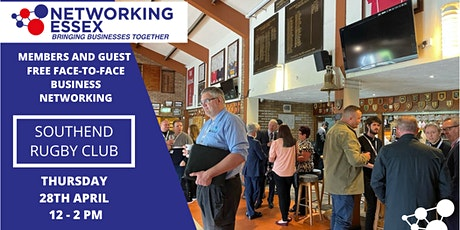 (FREE) Networking Essex Southend Thursday 28th April 12pm-2pm tickets