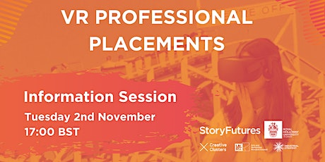 VR Professional Placements - Information Session tickets