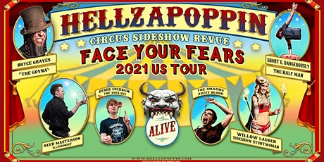"""""""Hellzapoppin"""" A Circus Side Show Revue at The Hub Music Hall tickets"""