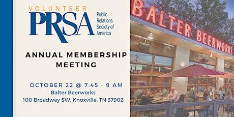 PRSA Volunteer Chapter Annual Membership Meeting tickets