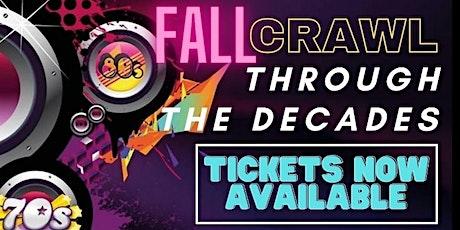 Fall Crawl Through the Decades tickets