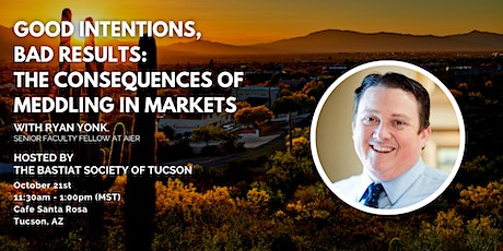 """Tucson: """"Good Intentions, Bad Results"""" with Ryan Yonk tickets"""