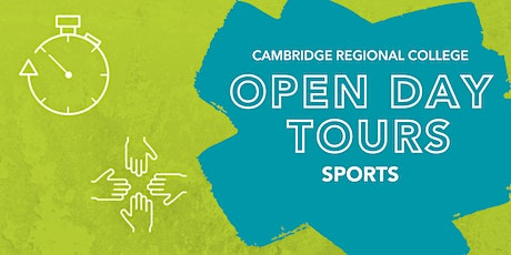 Sports Open Day Tours tickets