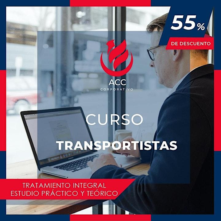Imagen de CURSO TRANSPPORTISTAS  TRATAMIENTO INTEGRL
