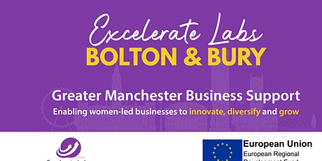 Excelerate Women - Bolton & Bury Business Growth Programme tickets
