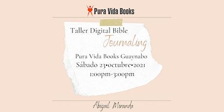 Taller Digital Bible Journaling entradas