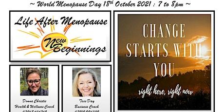 New Beginnings ~ Life After Menopause tickets