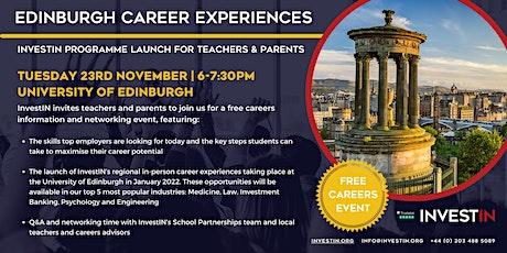 InvestIN: Launch of Edinburgh Career Experiences tickets