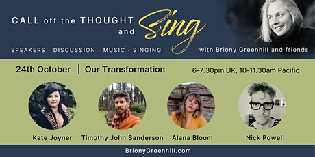 How are we Transforming? Call off the Thought and Sing no. 1 tickets